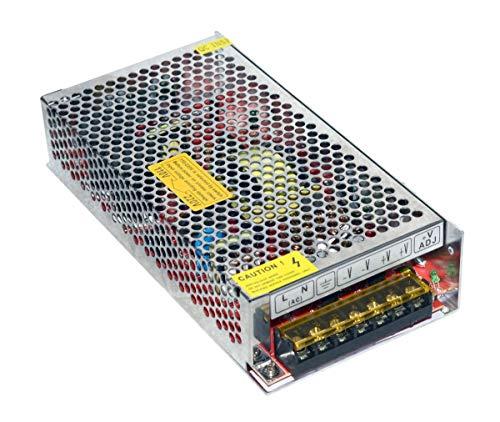 Vidoelectronica - Fuente de alimentación 10 A, 12 V, tira LED, transformador 10 A, estabilizado 220 V, 120 W [Clase de eficiencia energética A]