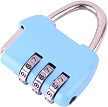 Wachtwoord Hangslot/Travel Trolley Box Lock/Gym Backpack Lock/Locker Room Cabinet Lock Blue