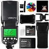 GODOX V860IIN Speedlite 2,4G HSS 1/8000S GN60 2000mAh Li-ion Akku TTL Kamera Blitz Blitzgerät für Nikon DSLR Kamera D800 D700 D7100 D7000 D5200 D5100