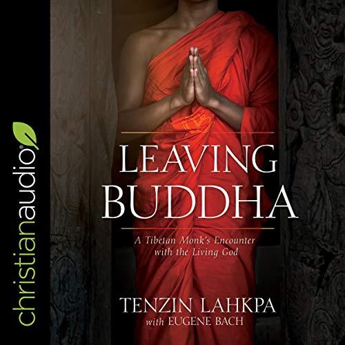 Page de couverture de Leaving Buddha