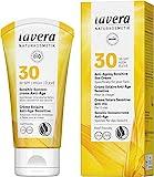 lavera Crème Solaire Anti-Âge Sensitive SPF30 • Soins Solaires • Crème Solaire • Anti-Âge • SPF 30 • Cosmétiques Naturels • vegan • certifié • 50ml