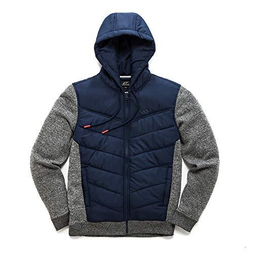 Alpinestars Herren Fleece Boost Quilted, Navy, XL, 1038-51010