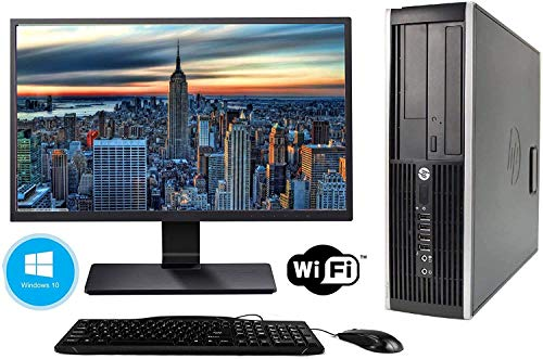 Hp Elite 8300 - Ordenador de sobremesa + Monitor 24'' (Intel...