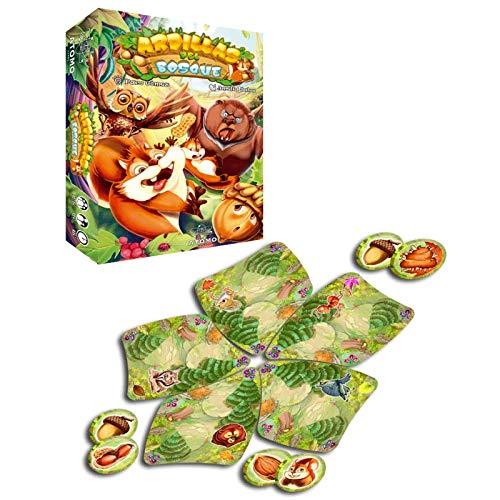 Átomo Games Ardillas del Bosque. El Juego de Mesa