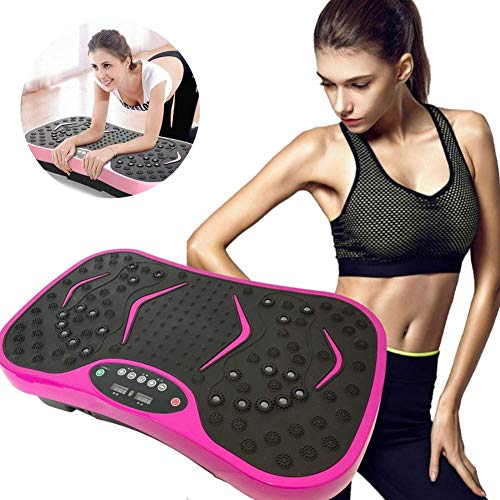 Ayanx Gym Equipment Vibrationsplatte, Bodybuilding-Vibrationsmaschine, Crazy Fit Massage, rot