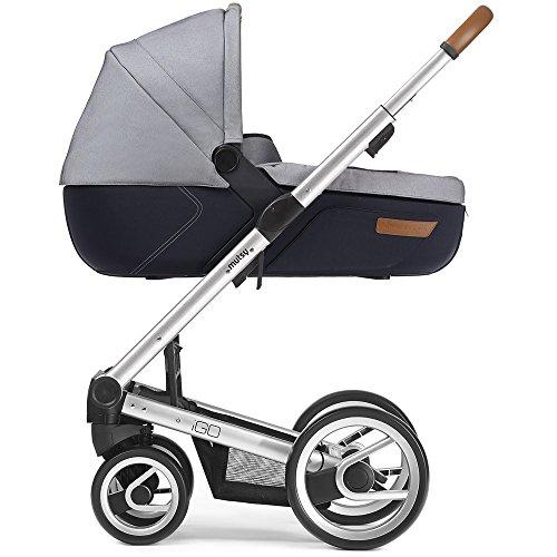 Mutsy Kinderwagen IGO - Urban Nomad white&blue / silver - Modell 2016