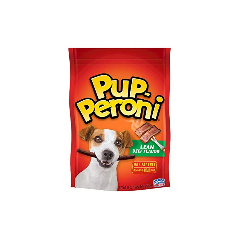 dog supplies online pup-peroni original lean beef flavor dog snacks, 5.6-ounce (pack of 8)