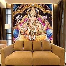 Pbldb Indian Gods 8D Murals Hindu Deities Buddha 3D Photo Murals Wall Paper for Background Religion 3D Wallpaper Wall Murals-120X100Cm