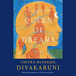 Queen of Dreams audiobook cover art