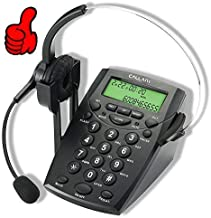 CALLANY Call Center Telephone with Noise Cancellation Headset (HT500) photo