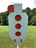 Magnum Target Zipper 3/8' AR500 Steel Hostage Reactive Dueling Tree Shooting Target for T-Post New