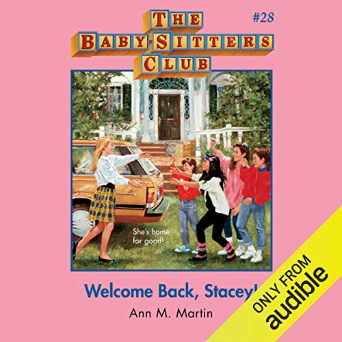 Welcome Back, Stacey! audiobook cover art
