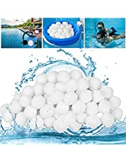 Filterballen, 500 g zwembadfilterballen, kan 18 kg filterzand vervangen, filterballen voor zandfiltersystemen, cartridgefilter, geschikt voor zwembadfilter, zwembadfilterinstallatie, zwembadreinigingstoebehoren