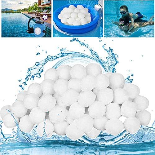 Sunshine smile Quarzsand Filter Balls, Filtermaterial ersetzen, Filteranlagenzubehör, filterballs Pool, Filter Balls, Pool Filter Balls,Filter Balls für sandfilteranlagen