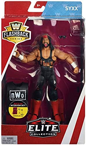 WWE Flashback Limited Edition - Syxx nWo X-Pac - Walmart Exclusive Action Figure Wrestling Catch