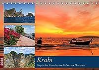 Krabi - Tropisches Paradies im Suedwesten Thailands (Tischkalender 2022 DIN A5 quer): Die Provinz Krabi beeindruckt mit traumhaften Straenden, tropischen Inseln und einer atemberaubenden Berglandschaft (Monatskalender, 14 Seiten )