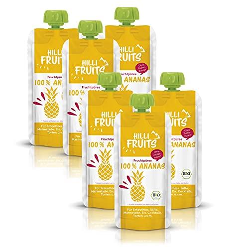 Hilli Fruits BIO Fruchtpüree Ananas...