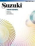 Suzuki Violin School - Volume 1 (Violin Part) Revised Edition