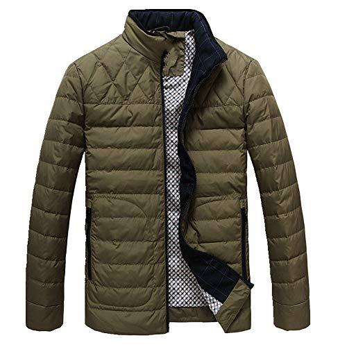 NP Heren lichtgewicht korte donsjas winter warme grote jas top