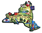 ARTWOOD MAGNET - NEW YORK STATE MAP