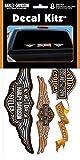 chroma graphics harley davidson - Chroma Graphics 3900 Harley-Davidson Vinyl Decal Kit -8Piece