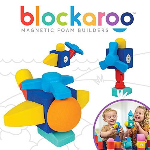 Blockaroo Magnetic Foam Blocks