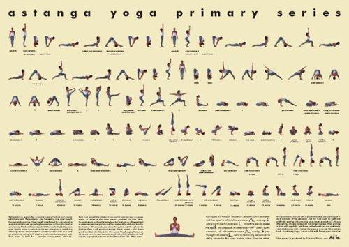 Vicki Picone Ashtanga Yoga Poster- Small Laminated
