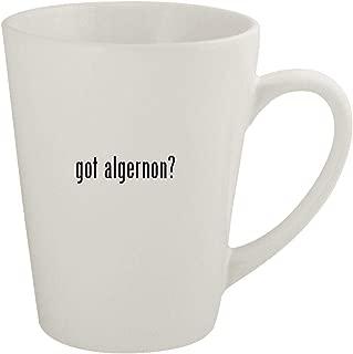 got algernon? - Ceramic 12oz Latte Coffee Mug