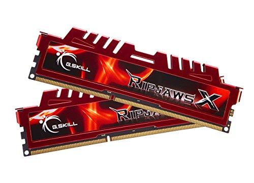 G.Skill Ripjaws x Series Arbeitsspeicher 8GB (1600MHz, 240-Polig, 2X 4GB) DDR3-RAM Kit