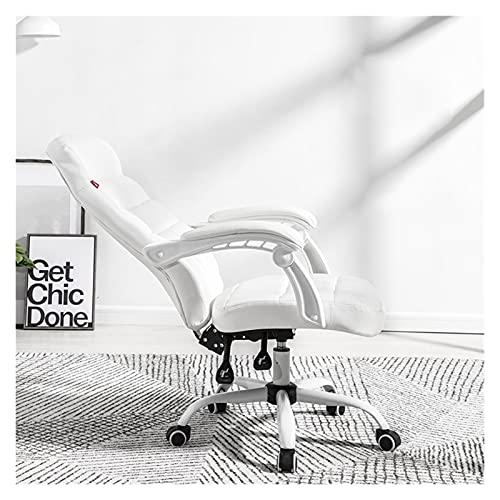 LYYJIAJU Silla de Oficina Ergonómica Silla de Juego Silla de Oficina con reposabrazos Silla Ergonómica de Escritorio Ergonómico Ergonómico Ejecutivo Silla de Tarea de computadora: Silla giratoria
