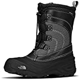 The North Face Alpenglow IV Boot, Tnf Black/Tnf Black, 4 M US Boys