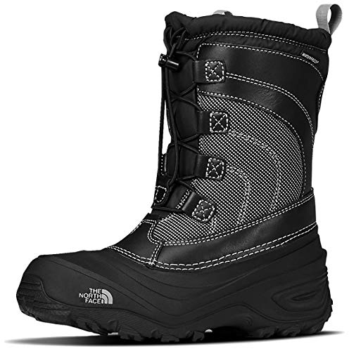 The North Face Girls' Thermoball Shellista Boots - Black/Dark Gull Grey, 1