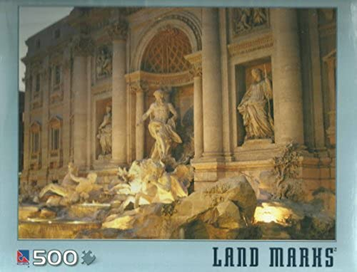 minoristas en línea Sure-Lox Trevi Fountain Fountain Fountain 500 Count Jigsaw Puzzle  bajo precio