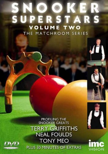 Snooker Superstars - The Matchroom Series - Vol 2 Featuring Terry Griffiths, Neal Foulds & Tony Meo [UK Import]