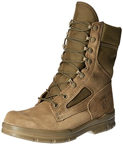 Bates Men's USMC Lightweight DuraShocks Boot Military & Tactical, Olive Mojave, 9 M US