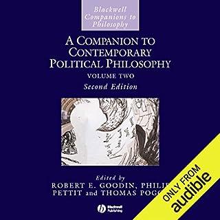 A Companion to Contemporary Political Philosophy cover art