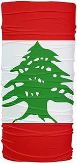 ScudoPro Lebanon Flag Multifunctional UV Protection Headband