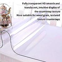PVC製 テーブルクロス テーブルマット 透明 デスクマット マット テーブルカバー 厚さ2mm 防水 耐久 汚れ防止