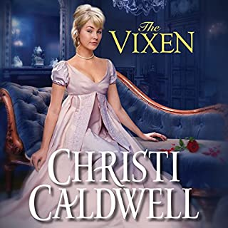 The Vixen audiobook cover art