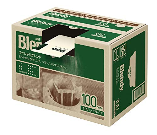 スマートマットライト AGF ブレンディ レギュラーコーヒー ドリップパック スペシャルブレンド 100袋 【 ドリップコーヒー 】