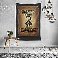 警告それは知られているタペストリー壁掛けアートタペストリーホームリビングルーム寮の装飾60X40インチ