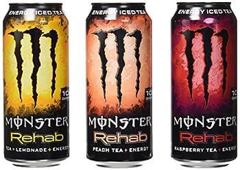 Monster Rehab Tea Plus Energy 24 Piece Variety Pack
