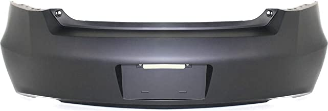 MBI AUTO - Painted to Match, Rear Bumper Cover Replacement for 2008-2012 Honda Accord Coupe 08-12, HO1100247