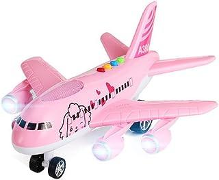 Black Temptation Modelo de Juguete de Gran tamaño para niños Avión de Juguete de Juguete para niños, Rosa
