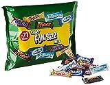 Vifycim Snickers Twix Bounty Milkyway Fun Size Mixed Large Bag, 1425 g, 71 pcs