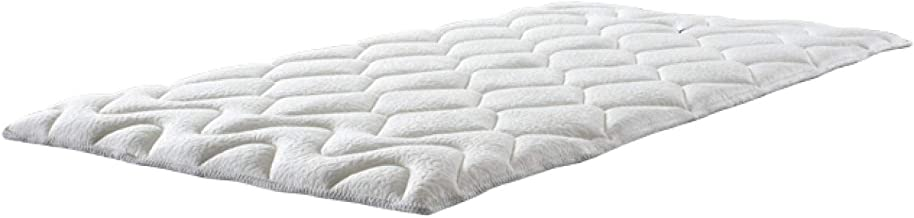 マニフレックス ベッドパッド 敷きパッド 高反発 エルゴ・トッパー ホワイト シングル