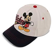 Disney Little Boys Mickey Mouse Cotton Baseball Cap, Grey, Age 4-7