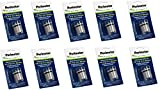 Ten Pack Dog Fence Batteries for Invisible Fence R21 & Microlite Receiver Collars by Perimeter Technologies