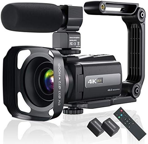 4K 60FPS Video Camera Camcorder Ultra HD 48MP YouTube Camera Vlogging WiFi Digital Camera Recorder product image