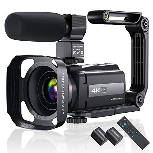 4K 60FPS Video Camera Camcorder Ultra HD...
